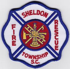 Sheldon TWP Fire Rescue Firefighter Patch NEW!!