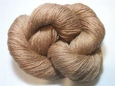 100% 4 Ply Baby Camel Hair Light Brown Natural Yarn 100 gram Skein VERY SOFT