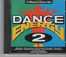 Dance Energy 2 (1991) définition of sound, de la soul, massive, 808 state... [CD]