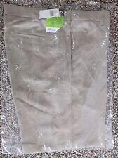 NWT Men's Izod Flat Front XFG Golf Pants Khaki/Tan  Classic Fit   38 x 32
