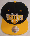 Boston Bruins Mitchell & Ness Adjustable Fit Cap Hat NEW