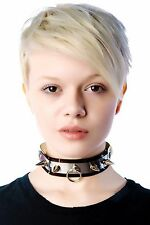UNIF PRAYER CHOKER Dolls Kill Necklace Jewelry Metal gothic Cross Punk Lolita