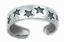 Adjustable Stars Toe Ring Sterling Silver 925 Beach Best Price Jewelry Gift