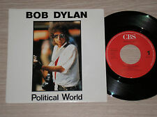 "BOB DYLAN - POLITICAL WORLD / RING THEM BELLS - RARO 45 GIRI 7"" HOLLAND"