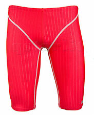 BOYS TRAINING RACING COMPETITION FASTBLADE JAMMER SWIMWEAR 24 XS RED