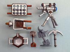 Warhammer Scenery Terrain - Dwarf Tools & Markers, Plastic Lot WS76a