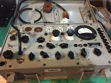 Military TV-7/U Tube Tester - Works Great, With Accessories And Box Of Tubes!