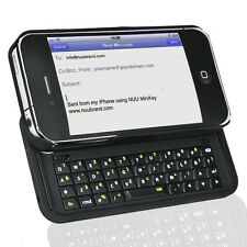 NUU K1 42-Key MiniKey Bluetooth Keyboard for iPhone 4/4S Black