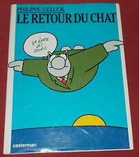 LE CHAT  N°2  LE RETOUR DU CHAT BD EO GELLUCK TTBE