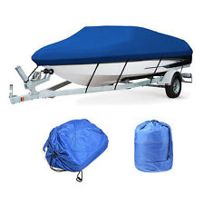 "100"" Boat Cover Heavy Duty 600D Water Proof Trailer Fishing Ski Covers"