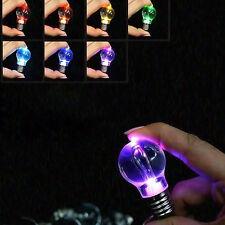 LED Schlüsselanhänger Keychain Glühbirne Glühlampe Farbwechsel Taschenlampe Lich