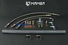 MAMBA Turbo Oil & Water Line Kit For Nissan RD28 Patrol Safari w/ TD04L-13T-5