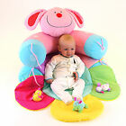 baby playmat 3 in 1 sit me up blossom inflatable play mat & lounger with toys