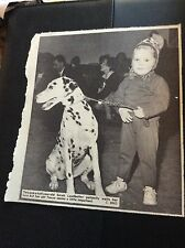 c2-2 ephemera 1969 picture thanet dog show sarah leadbetter and dog tanya