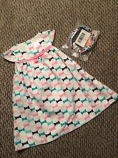 NEW Gymboree Girls Picture Day Dress Cover Up Geo-print Headband 2T CUTE