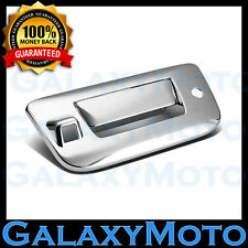Chrome Tailgate Door Handle Cover W/Camera Hole For 07-13 Silverado+GMC Sierra