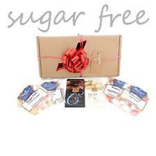 Sugar Free Assorted Chocolate & Sweet Hamper Box Gift Idea Diabetic 6 x ITEMS