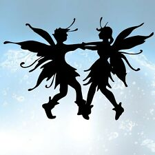 DANCING FAIRIES Sticker 160X110 mm Vinyl Graphic Car-van laptop Wall