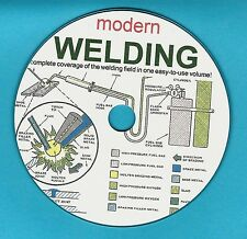 Modern Welding, trade and technical school text book on  CD-ROM