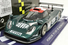 FLY 104 PORSCHE 911 GT1 98 RACING EVO 3 CAR NEW 1/32 SLOT CAR IN DISPLAY CASE