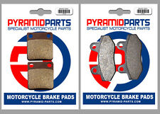 Sachs 125 MadAss 2009 Front & Rear Brake Pads Full Set (2 Pairs)