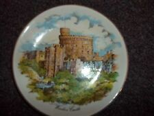 vintage Windsor castle plate Royal Falcon Giftware Weatherly Stoke on trent Engl