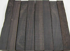 8 African Blackwood Pen Blanks Exotic Wood Lumber Free Shipping AB-1