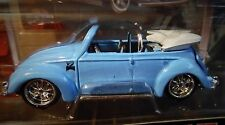 MAISTO VOLKSWAGEN VW BEETLE CABRIOLET LT BL CUSTOM STYLE G RIDEZ COLLECTIBLE CAR