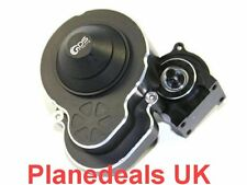 * NEW * Upgrade Alloy Gearbox with steel gear set for Axial SCX10 Ⅱ 2 black
