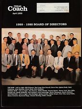 1990 Texas Coach Magazine April Board of Directors 19299