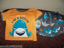 Carter's Mom Says I'm A Catch 2PC Pajama Set Size 24 Months Boy's NEW LAST ONE