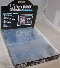10 Ultra Pro 6 Pocket Tall Card Pages Sheets