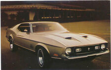 Ford Mustang Mach I for 1971 original Postcard