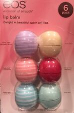 EOS™ Visibly Soft Organic Smooth Sphere Lip Balm 6 Pack Blackberry Coconut Vanil