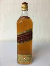Johnnie Walker Red Label Old Scotch Whisky Duty Free 1 Litro ?? Vintage 1