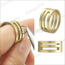 DIY Raw Brass Jump Ring Jumpring Open/Close Tools for Jewellery Making 19x9mm