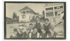 PHOTO 9 YOUNG MEN/LADIES IN SWIMWEAR/BEACH ATTIRE LARGE BEACHFRONT HOMES IN BKGD
