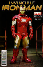 INVINCIBLE IRON MAN (2015) #1 Cosplay VARIANT