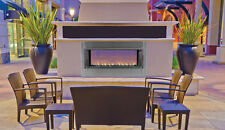 "FMI BERLIN LIGHTS 43"" LINEAR OUTDOOR VENT FREE FIREPLACE LVFO43NE NATURAL GAS"