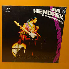 "1990 GRAVITY BMG VIDEO JIMI HENDRIX ""EXPERIENCE"" LASER DISC LASERDISC PAL SEALED"