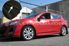 Rally Armor 2010-2013 Mazdaspeed 3 & Mazda 3 UR Black Mud Flaps Kit w/ Red Logo