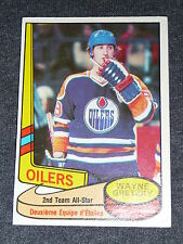 80-81 O-Pee-Chee #87 WAYNE GRETZKY All-star OPC * 2nd year card *