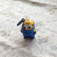 minion dust plug Handmade So Cute Gift Phone Charm Stopper