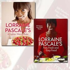 Lorraine Pascale Collection 2 Books Set Fast, Fresh, Easy Food A Lighter Way