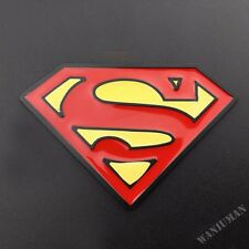 3D Metal Superman Badge Emblem Sticker Auto Trunk Motorcycle Tank Fit For Honda