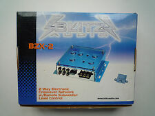 BLITZ AUDIO BZX-2 2-WAY ELECTRONIC CROSSOVER NETWORK w/ SUBWOOFER LEVEL CONTROL