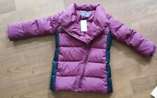 Vince Girl Leather Trim Down Puffer Coat Size:6 or 5 USA $354 NWT