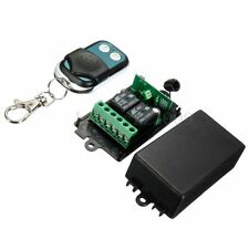 DC 12V 2CH Channel 315MHZ Wireless RF Remote Control Switch Transmitter+Receiver