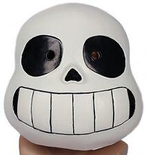 Undertale Sans Helmet Deluxe Soft Resin Full Head Mask Halloween Cosplay Prop