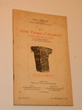 1931 La Sainte Tunique d'argenteuil ABBE L.PARCOT versailles SCHERWILLER artigue